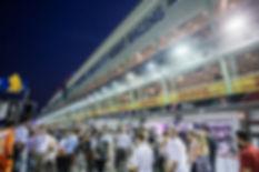 Singapore Grand Prix Pit Lane Walk