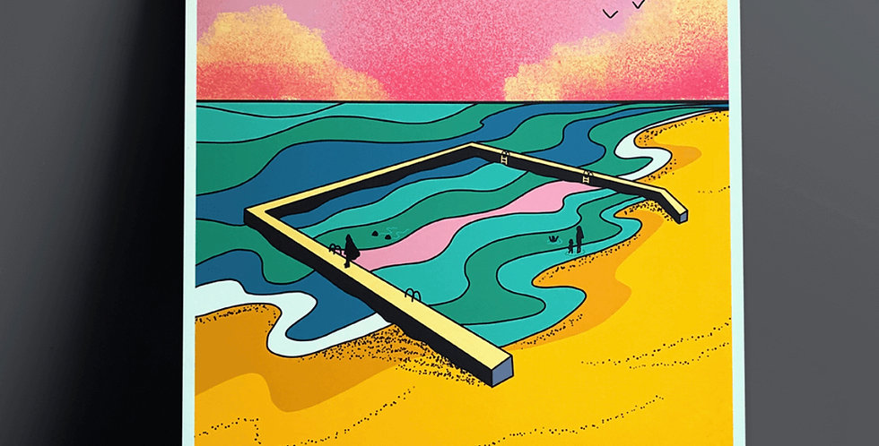 Limited Edition Tidal Pool print