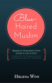 Cover for Blue-Haired Muslim