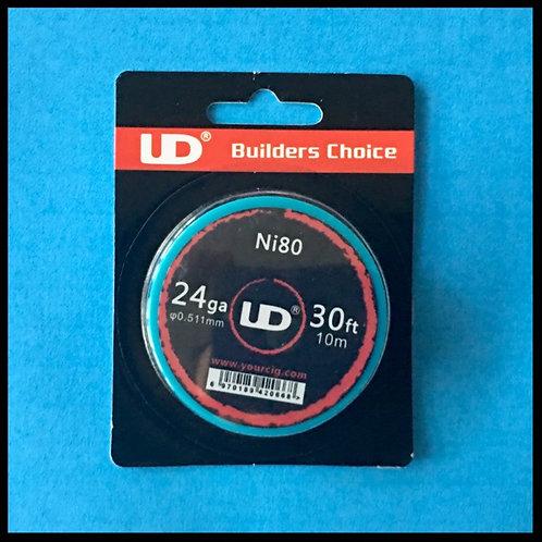UD - Nichrome (Ni80) - 24awg