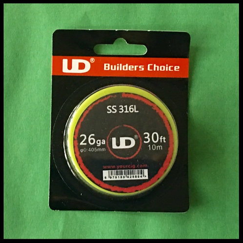 UD - 316L Stainless Steel - 26awg