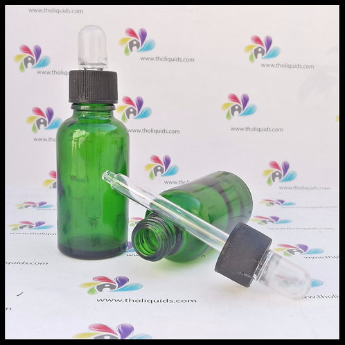 Gotero cristal Verde 30ml