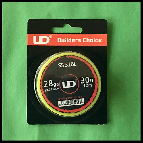 UD - 316L Stainless Steel - 28awg
