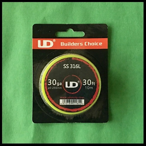 UD - 316L Stainless Steel - 30awg
