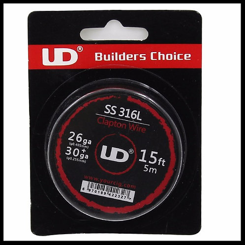 UD - 316 SS Clapton - 26+30awg