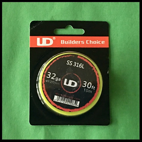 UD - 316L Stainless Steel - 32awg