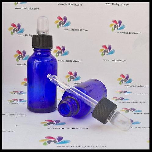 Gotero cristal Azul (cobalto) 30ml