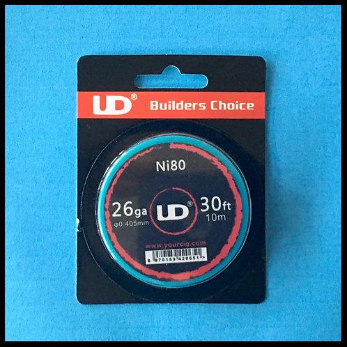 UD - Nichrome (Ni80) - 26awg