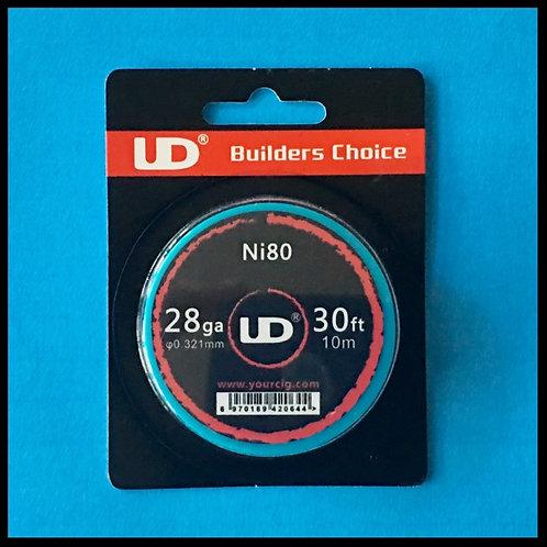 UD - Nichrome (Ni80) - 28awg