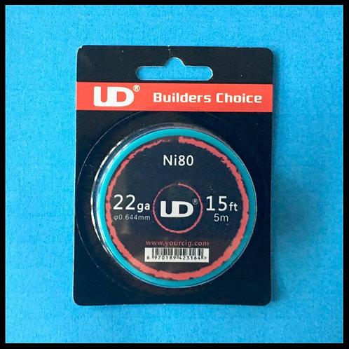 UD - Nichrome (Ni80) - 22awg