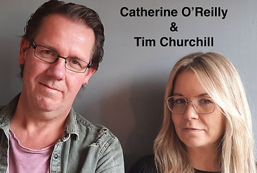 Headshot Catherine O'Reilly and Tim Chur