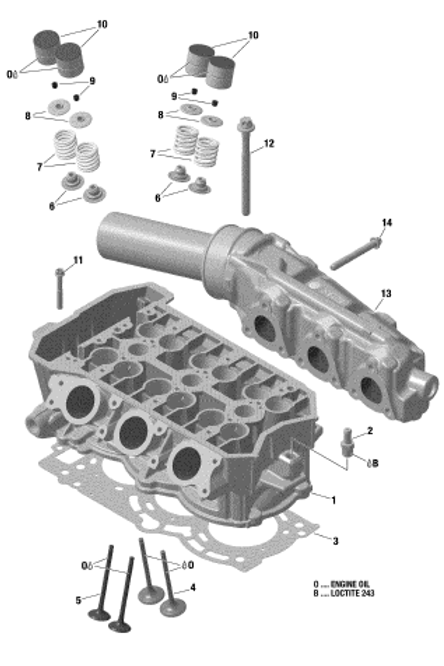 420640333Flanged Torx Screw M8 x 65