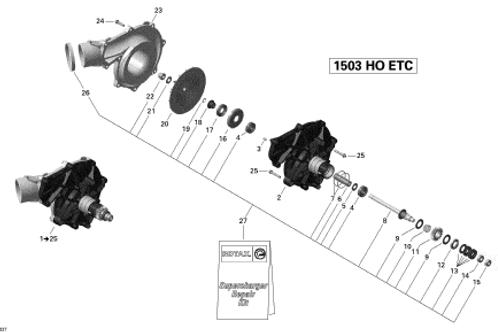 420867195 Compressor Impeller