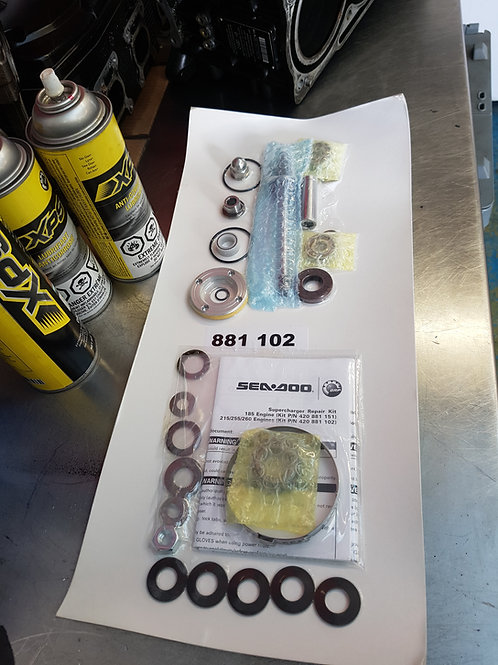 Seadoo Supercharger Rebuild Kit