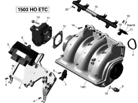 420641238 Flanged Torx Screw M6 X 25