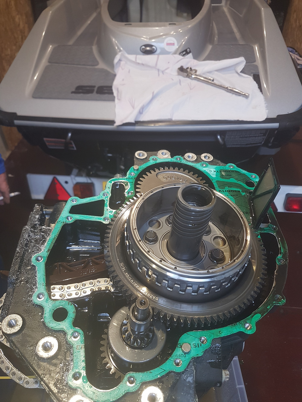 Seadoo engine rebuild