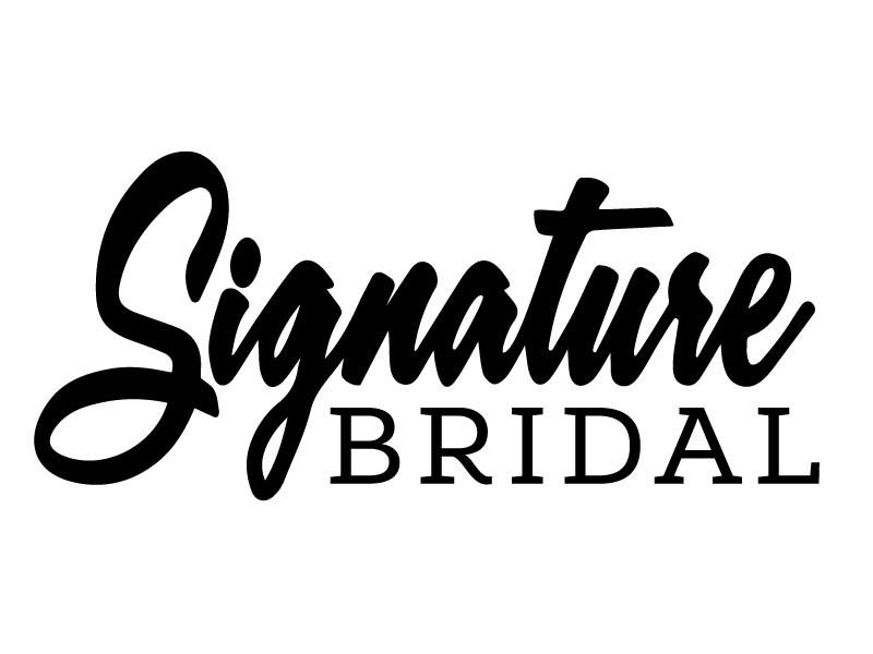 Signature Bridal logo refresh