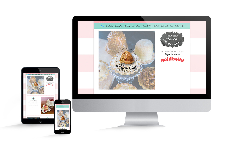 The Blue Owl Bakery Website