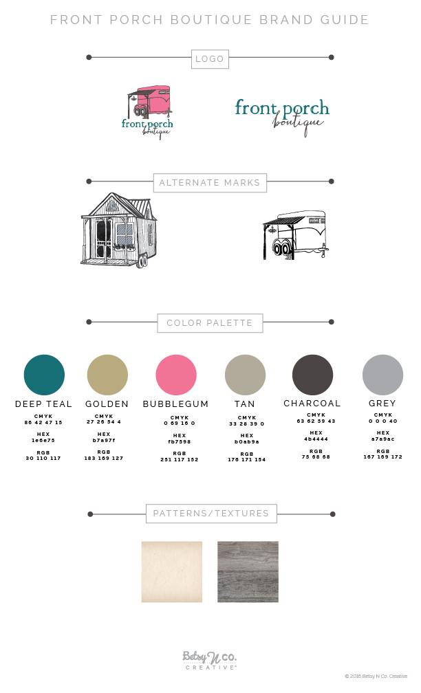 Front Porch Boutique Style Guide
