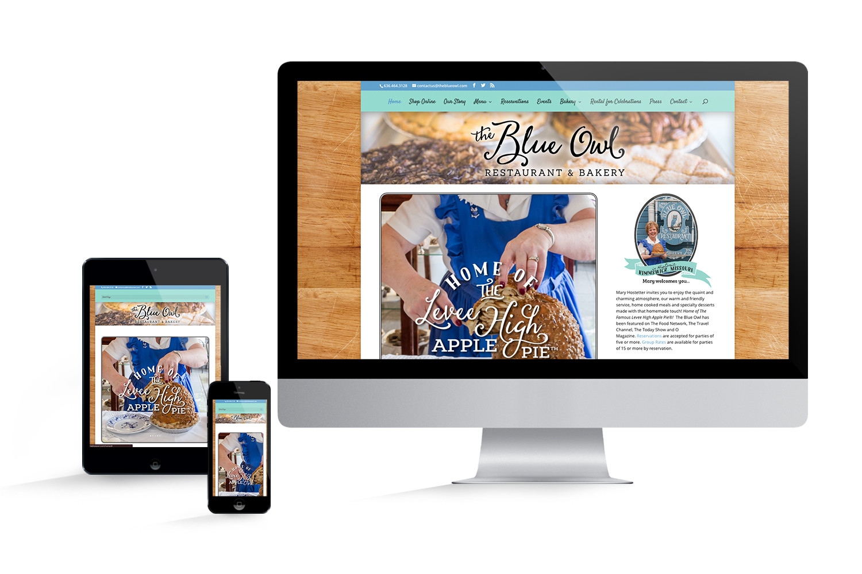 Blue Owl Restaurant Website