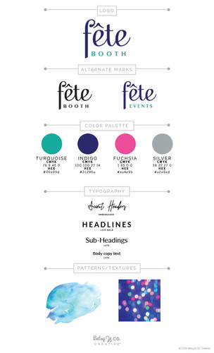 Fete Booth Style Guide