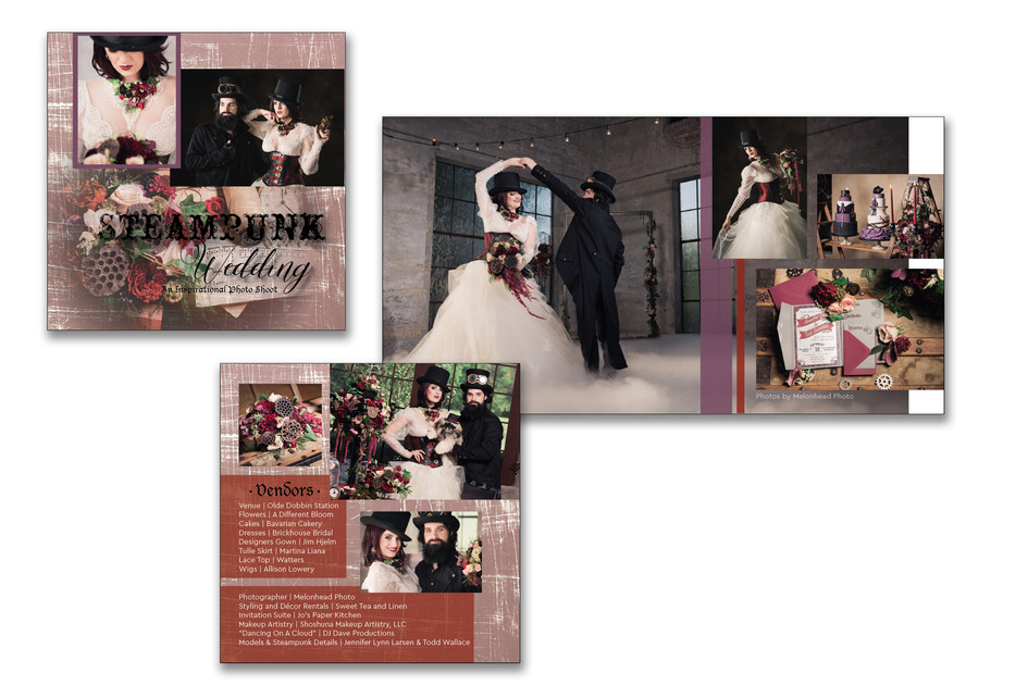 Styled Shoot Magazine Layout