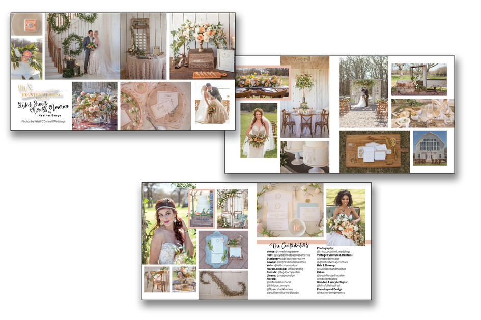 Styled Shoot Layout