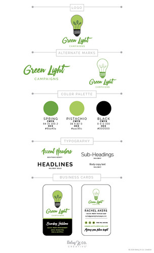 Green Light Campaigns Style Guide
