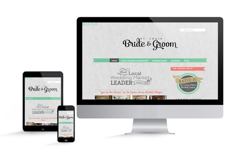 St. Louis Bride and Groom Website