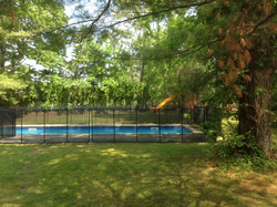pool safety fence