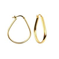 Statement Gold Hoops