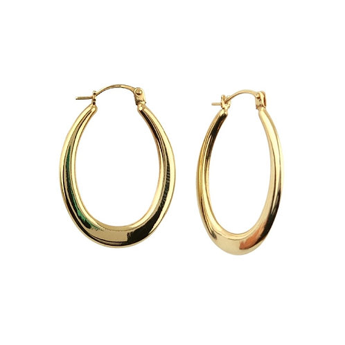 19mm | 9ct Gold Hoop Earrings 'Allana'