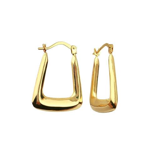 17mm | 9ct Gold Hoop Earrings 'Effie'