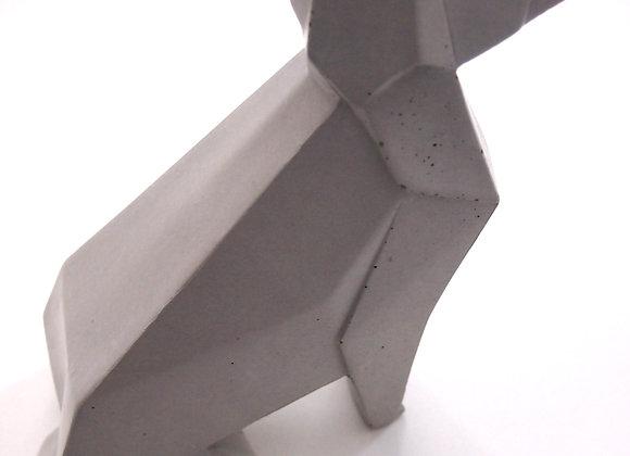 Betonfiguren im Origamistyle