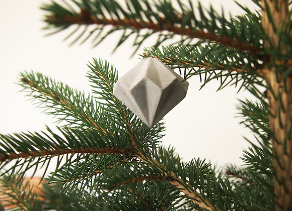 Smucksteen - geometrische Anhänger aus Beton