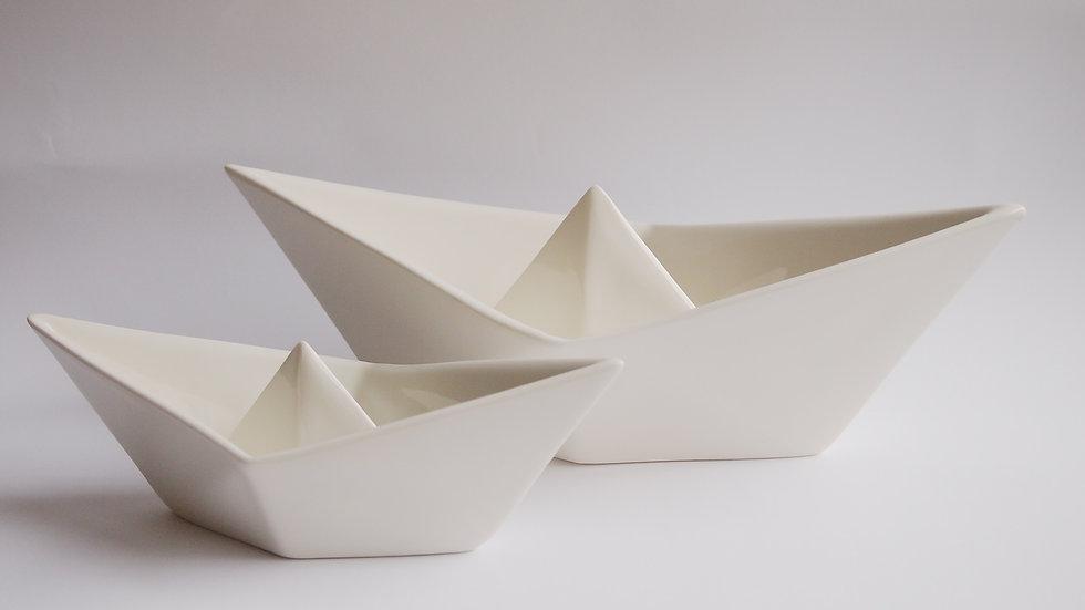 Bootjen - Origami Schiffchen Schale