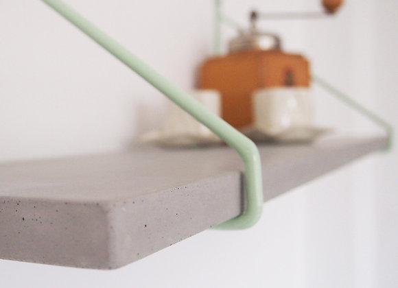 Uphangen - Wandregal aus Beton