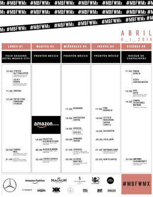 Mercedes-Benz Fashion Week Mexico City celebra su vigésima quinta edición del 1 al 5 de abril