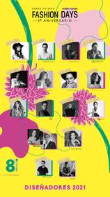 Fashion Days, Plataforma Latinoamericana de Moda con Causa celebra su 5to. Aniversario.