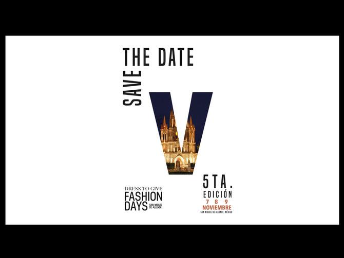 Fashion Days San Miguel de Allende                   Brochure / Quinta Edición