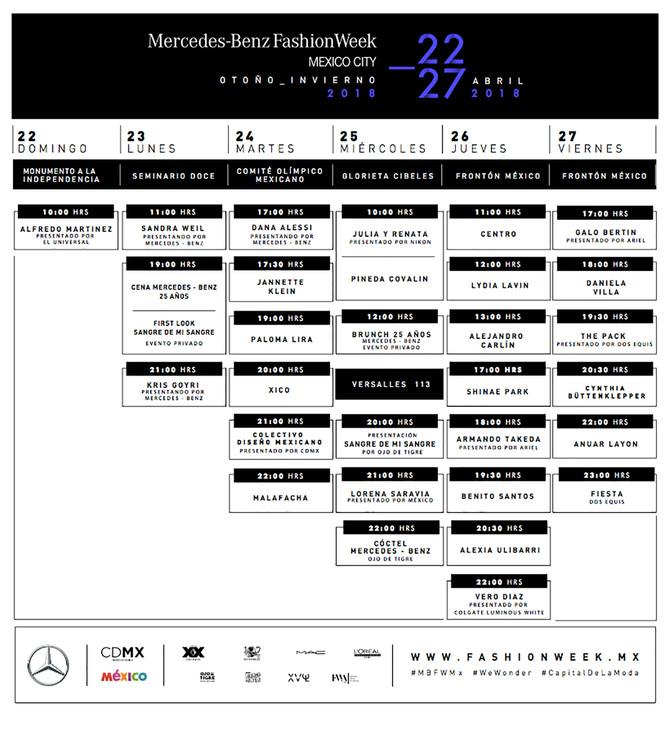 #MBFWMX Mercedes-Benz Fashion Week México City Impulsa a la Ciudad de México a través de la moda y