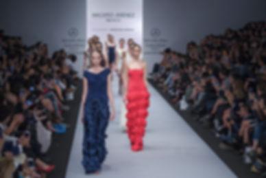 Fotografia de moda en pasarela