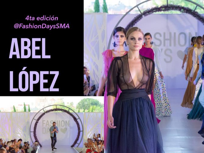 """Abel Lopez presenta su colección """"ROY """" SS 2018 durante la 4ta edición de Fashion Days San Miguel de"""