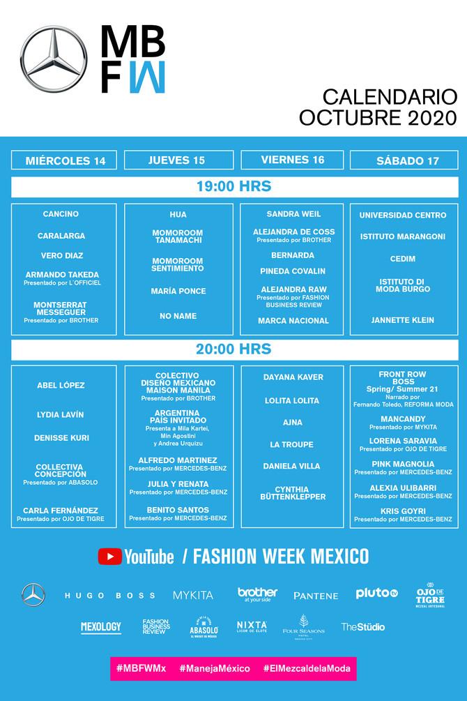 EL DÍA DE HOY INICIA LA 28 EDICIÓN DE MERCEDES - BENZ FASHION WEEK MEXICO EUN UN FORMATO PRESENCIAL