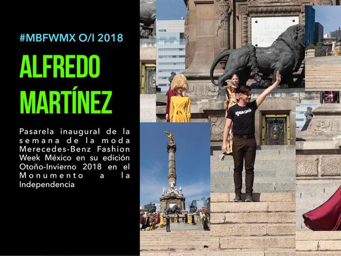 Alfredo Martinez en #MBFWMX presenta OI 2018