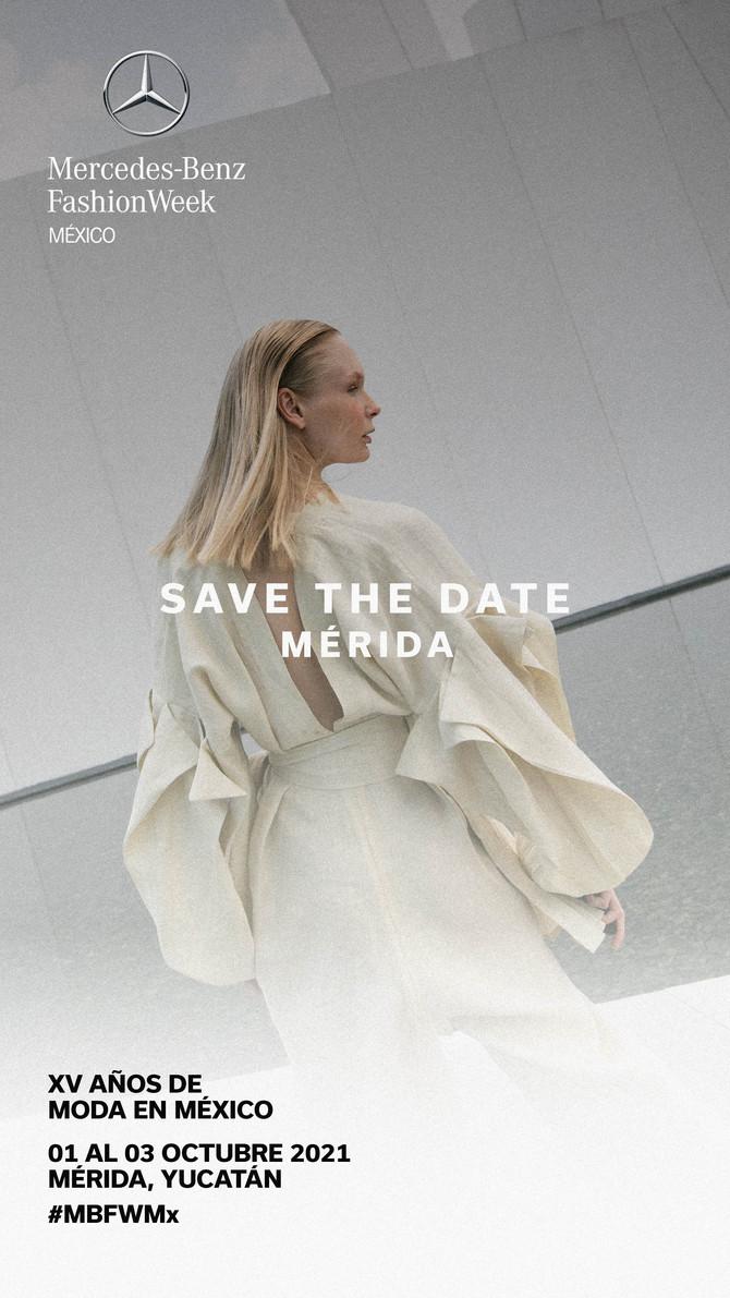 Mercedes-Benz Fashion Week México por su XV aniversario del 1 al 3 de octubre