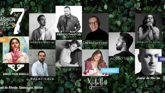 Fashion Days San Miguel de Allende anuncia su Séptima Edición de 6 al 8 de Noviembre del 2019.