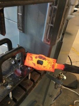 2lb OR 3lb - 4140 Hammer Blank w/ Hole