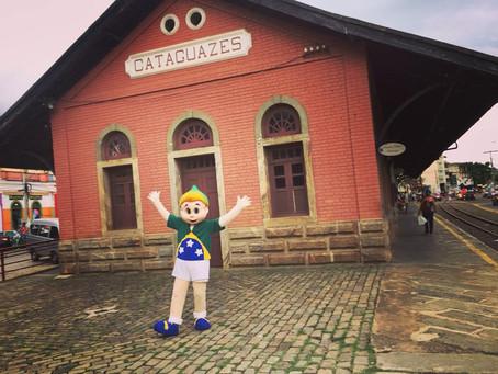 Brasilzinho visita Cataguases em Minas Gerais