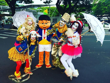 Umuaraminha participa do Desfile Natal Encantado